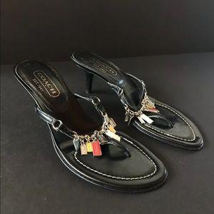 Rare Vintage COACH Thong Sandals